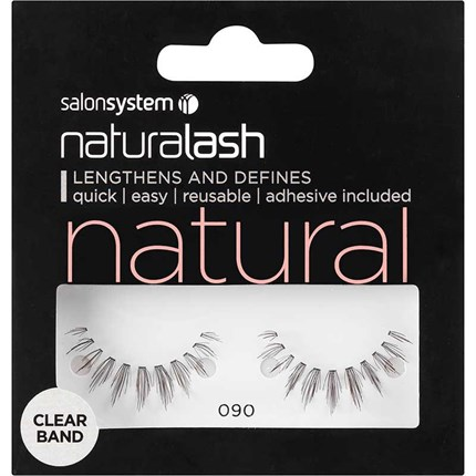 Salon System Naturalash Clear - 090 Black (Natural)