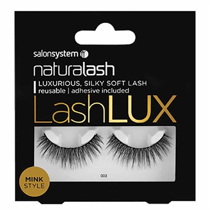 Salon System Naturalash Strip Lash Lux Faux Mink - 003