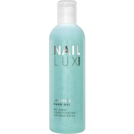 Salon System Profile NailLux Sanitise Hand Gel 250ml
