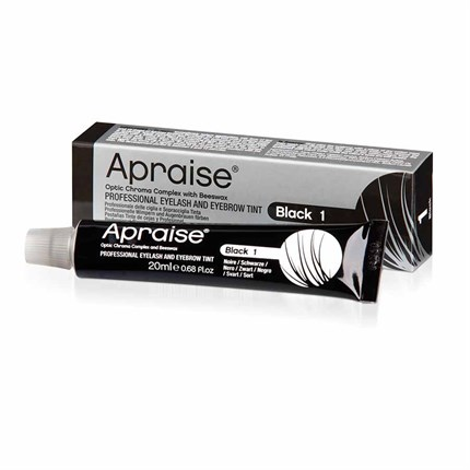 Apraise Eyelash & Eyebrow Tint 20ml - No 1 Black
