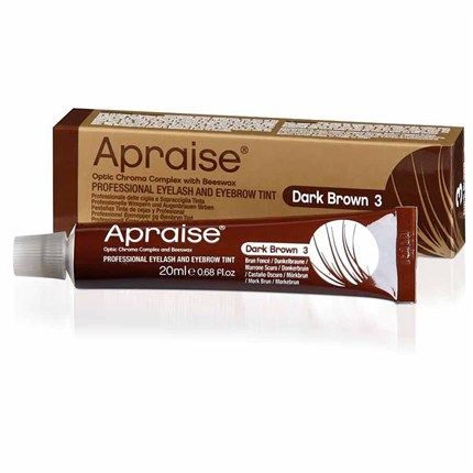 Apraise Eyelash & Eyebrow Tint 20ml - No 3 Dark Brown