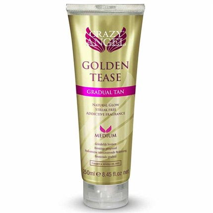 Crazy Angel Golden Tease Tan 250ml