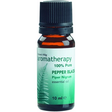 Natures Way Pepper Black Essential Oil 10ml