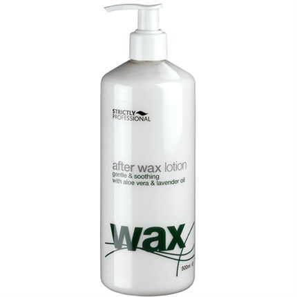 Strictly Professional After Wax Lotion (Aloe Vera & Lavender) 500ml