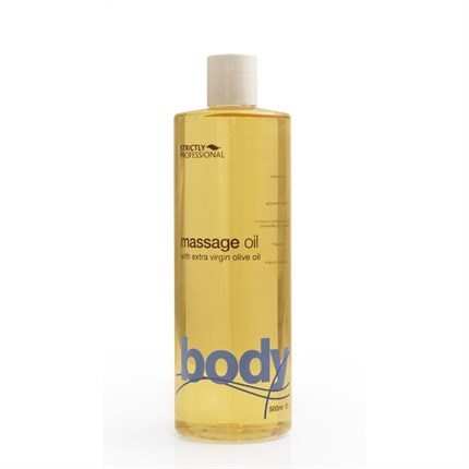 Strictly Professional Massage Oil with Extra Virgin Olive Oil 500ml