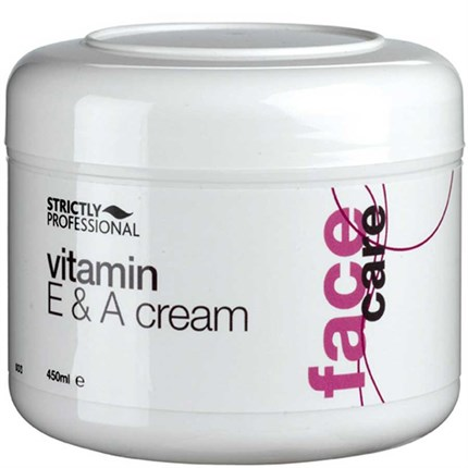 Strictly Professional Vitamin E & A Cream 450ml