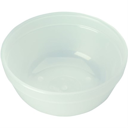 Strictly Professional Solution Bowl Polythene - 4 Inch