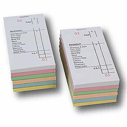 Assistant Bill Check Pads Green Pk12