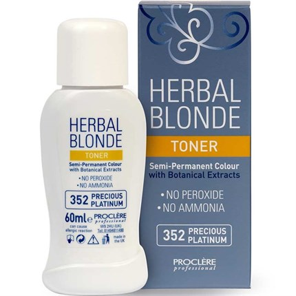 Proclere Herbal Blonde Toner 60ml - Beautiful Beige