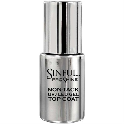 Sinful PROshine Non-Tack UV/LED Gel Top Coat