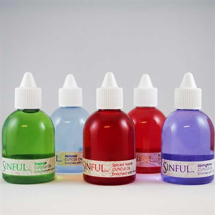 Sinful Cuticle Oil 60ml - Tropical
