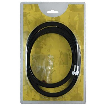 Salon Ambience Black Nylon Flexible Hose In Blister Pack