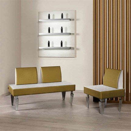 Salon Ambience Orion One Position Waiting Seat