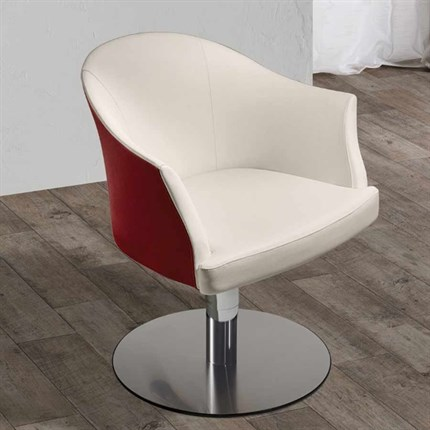 Salon Ambience Margot Styling Chair + Lockable Pump-Disc Base