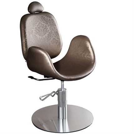 Salon Ambience Medical Beauty Natalie Make-Up Chair (No Footrest) - Vintage Tan G2