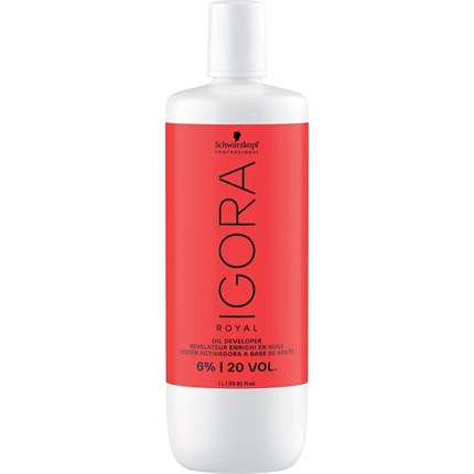 Schwarzkopf Igora Developer 1 Litre - 20vol (6%)