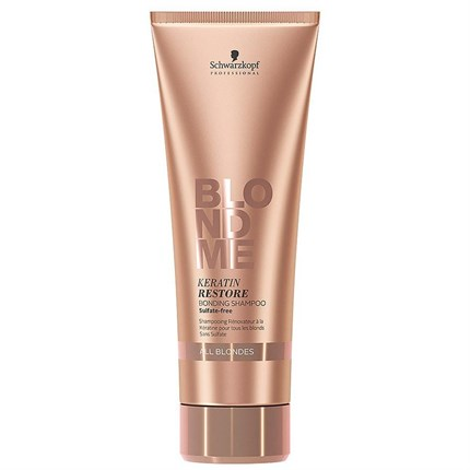 Schwarzkopf BLONDME Keratin Restore Bonding Shampoo - All Blondes 250ml