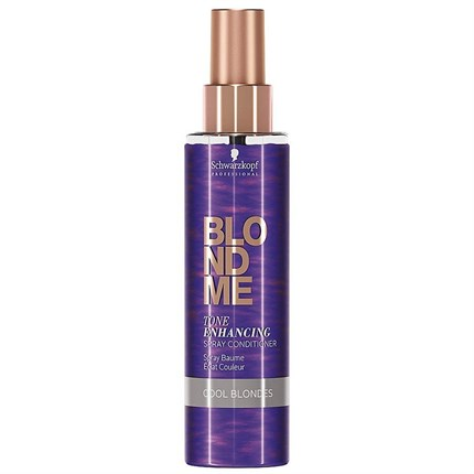Schwarzkopf BLONDME Tone Enhancing Spray Conditioner - Cool Blondes 150ml