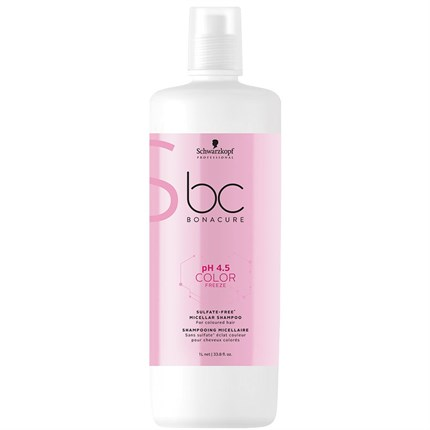 Schwarzkopf BC pH 4.5 COLOR FREEZE Micellar Sulfate Free Shampoo 1L