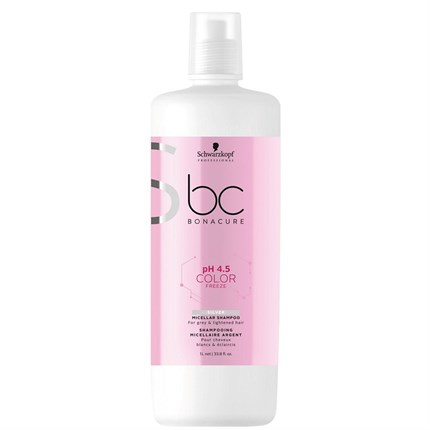 Schwarzkopf BC pH 4.5 COLOR FREEZE Silver Shampoo 1L