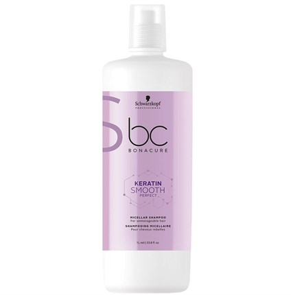 Schwarzkopf BC KERATIN SMOOTH PERFECT Micellar Shampoo 1L