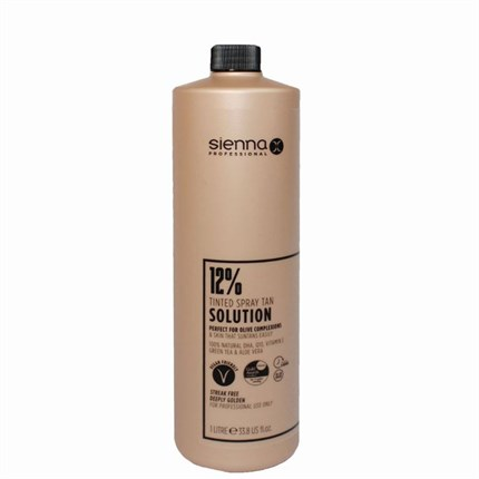 Sienna X Spray Tan Solution 12% DHA - 1 Litre