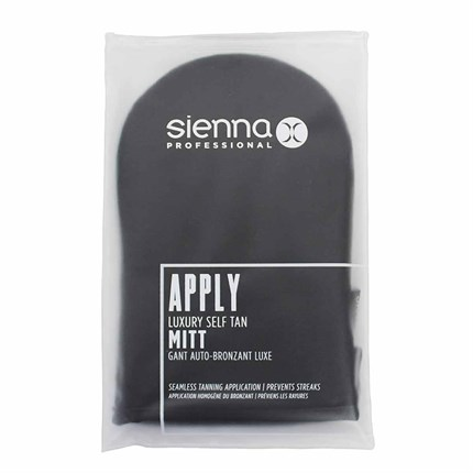 Sienna X Luxury Self Tan Mitt Black