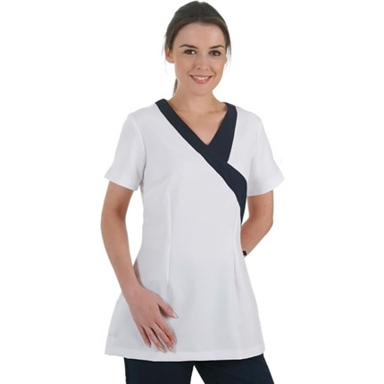 Gear Ohio Tunic White with Navy Trim - Size 10