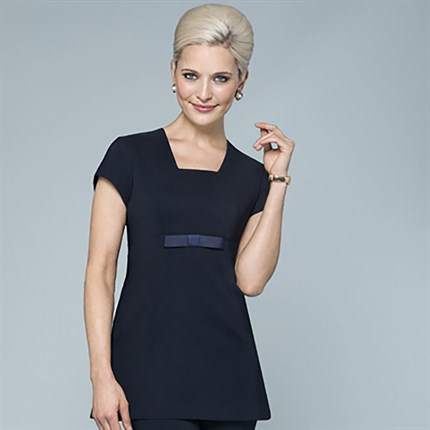 Buttercup Bow Tunic (B215) Navy - Size 10