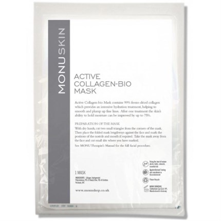Monuskin Active Collagen-Bio Masks (1 Pack)