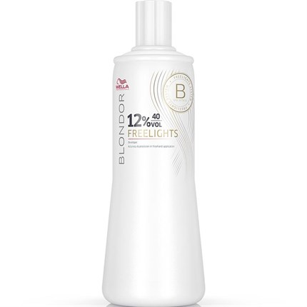 Wella Blondor Freelights Developer 1 Litre - 12% (40 Vol)
