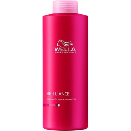 Wella Professionals Brilliance Shampoo (Thick) 1000ml