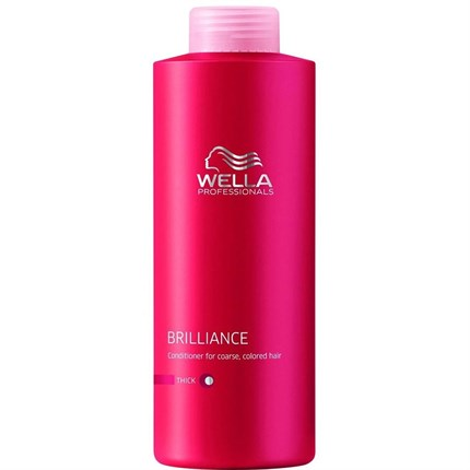 Wella Professionals Brilliance Conditioner (Thick) 1000ml