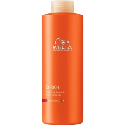 Wella Professionals Enrich Shampoo (Fine/Normal) 1000ml