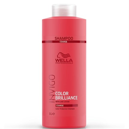 Wella Professionals INVIGO Color Brilliance Shampoo 1000ml - Coarse Hair