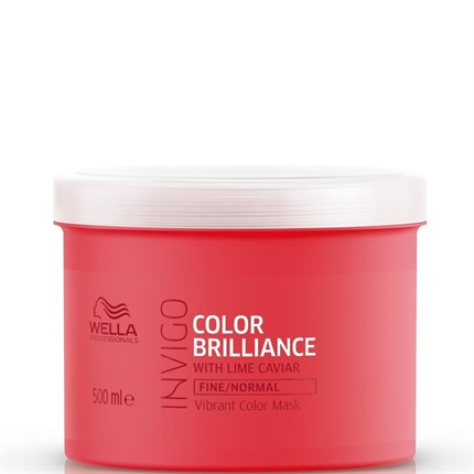Wella Professionals INVIGO Color Brilliance Mask 500ml - Fine/Normal Hair