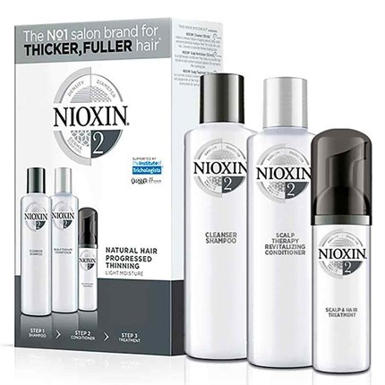 Nioxin Trial Kit System 2 - For Natural Hair with Progressed Thinning