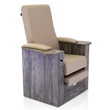 REM Natura Static Back Pedispa Chair - Tailored Ebony
