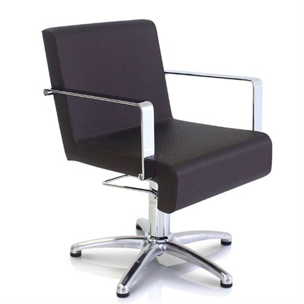 REM Cascade Hydraulic Chair - Tailored Putty