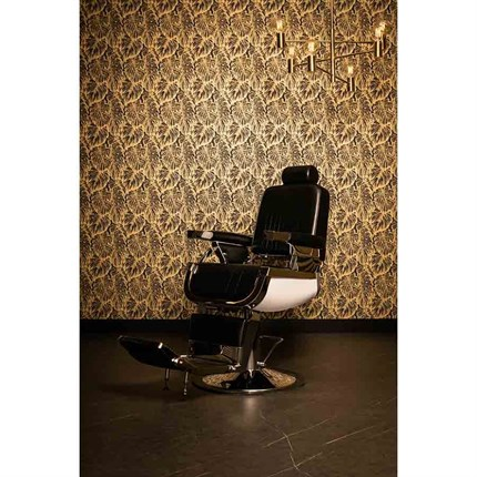 REM Emperor Barber Chair - Platin