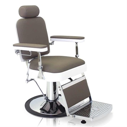 REM Vantage Barber Chair - Pebble