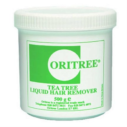 Oritree Liquid Hair Remover Wax 500g - Tea Tree
