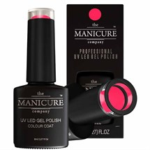 The Manicure Company UV LED Gel Nail Polish 8ml - Neon Pink