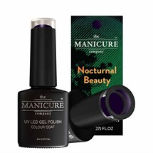 The Manicure Company Gel Polish Nocturnal Beauty 8ml - Black River