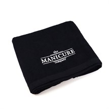 The Manicure Company Black Cotton Towel