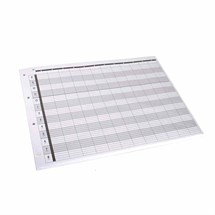 Agenda Loose Leaf Refill (12 Assistant) 4 Hole x100