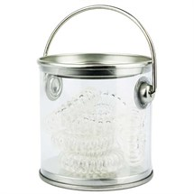 Agenda Bucket Of Bobbles Clear X 6