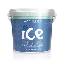 Affinage Ice Creme Powder Lightener Multipack (5 x 500g) - White Apple