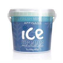 Affinage Ice Creme Powder Lightener Multipack (5 x 500g) - Fresh Mint