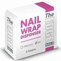 The Edge Nail Wrap Dispenser 2.7m - Silk